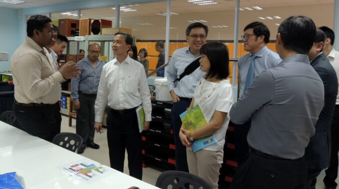 NCSS President Visits APSN Centre For Adults