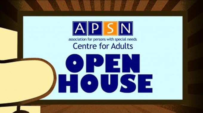 APSN Centre For Adults (CFA) Open House