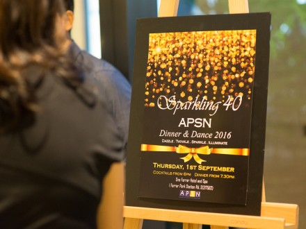 APSN 40th Anniversary Dinner & Dance 2016