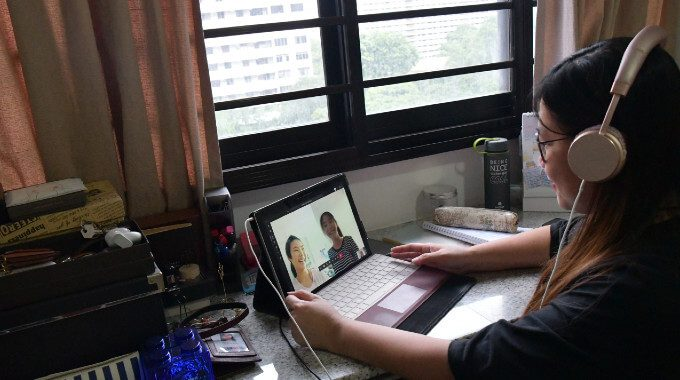 Ms Gan Hui Hoon Working From Home