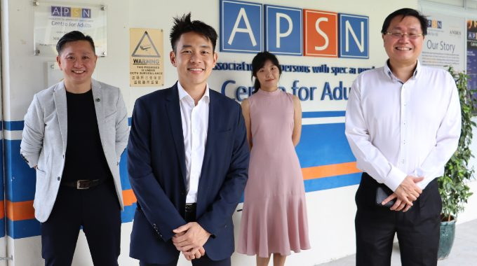 Nimbus Visits APSN Cafe For All