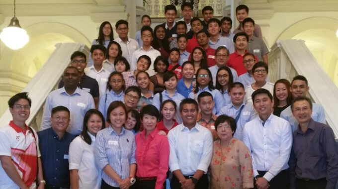 Special Olympics Singapore Goes To The Istana