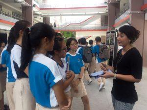 APSN Corp Comms Manager Ms Ufairah Akram sharing on APSN schools