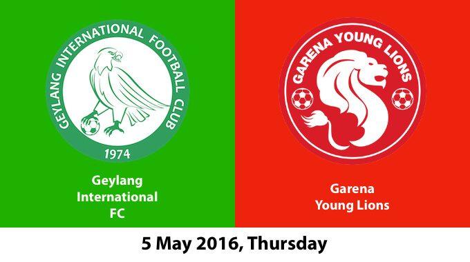 Geylang International FC Vs Garena Young Lions