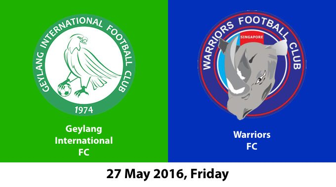 Geylang International FC Vs Warriors FC