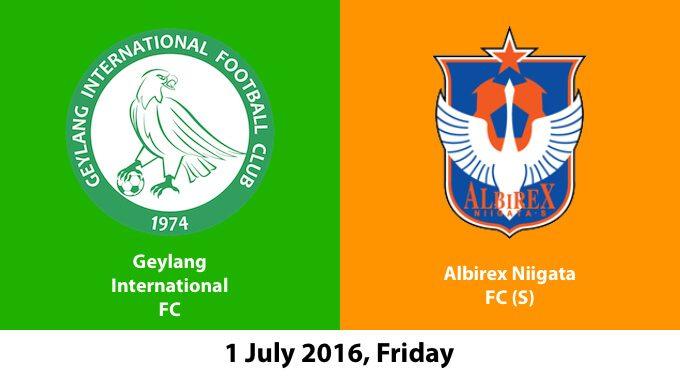 Geylang Internationl FC Vs Albirex Niigata FC (S)