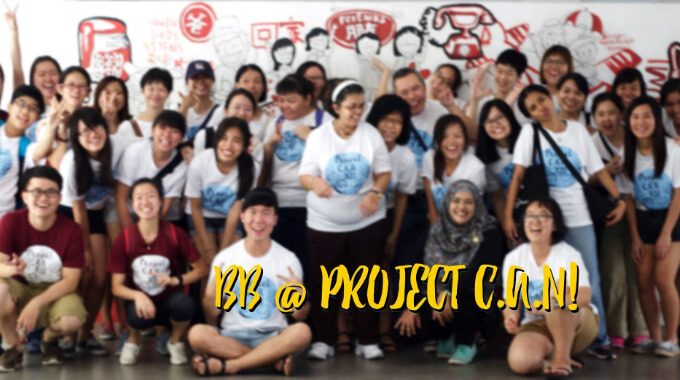 Best Buddies Volunteer For Project C.A.N