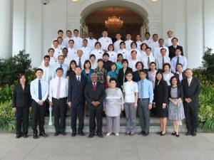 Mr Han Xuan Chou remembers Mr S R Nathan