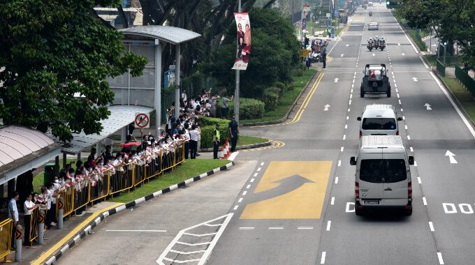 APSN Tanglin School Bids Final Farewell To Mr S R Nathan
