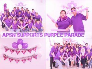 Purple Parade Fever!