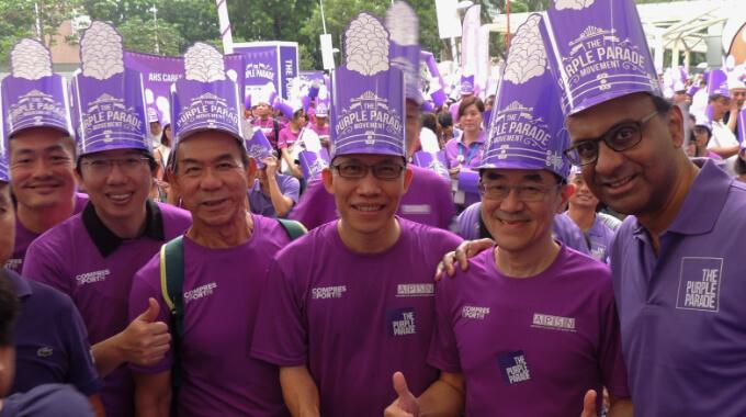 Purple In The City!