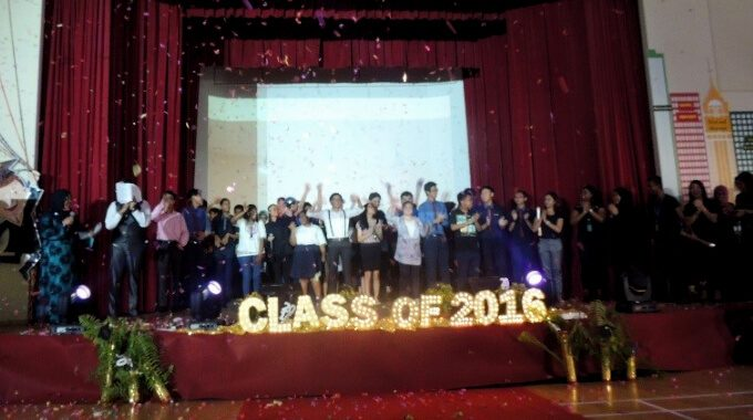APSN Delta Senior School Graduation And Award Presentation Ceremony 2016